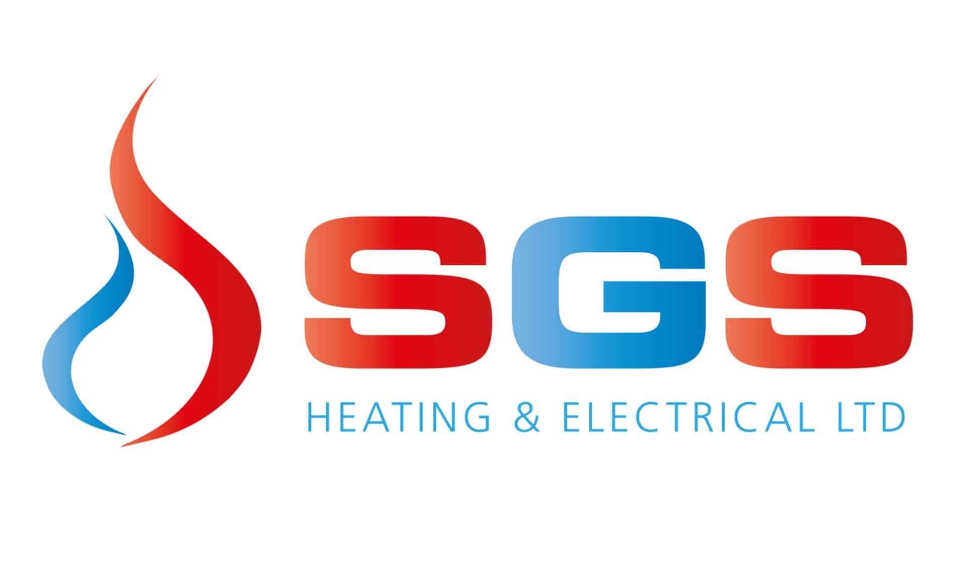 SGS logo design